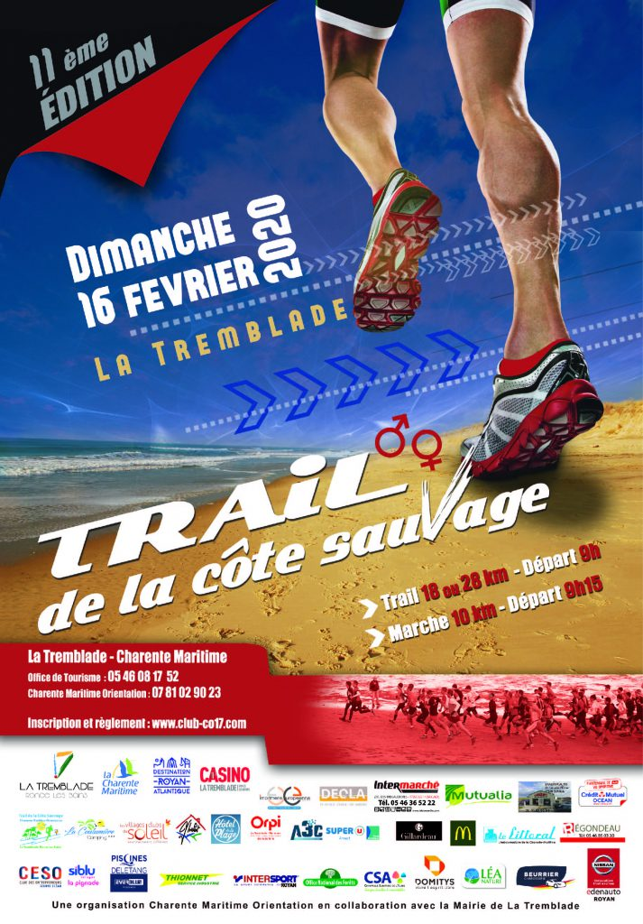 Trail de la Côte Sauvage @ La Tremblade